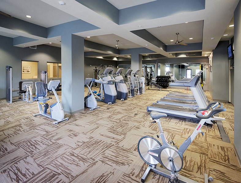 Fitness Center at LangTree Lake Norman Apartments