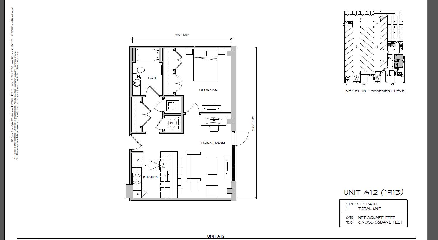 A12 - 1913 Floor Plan 1