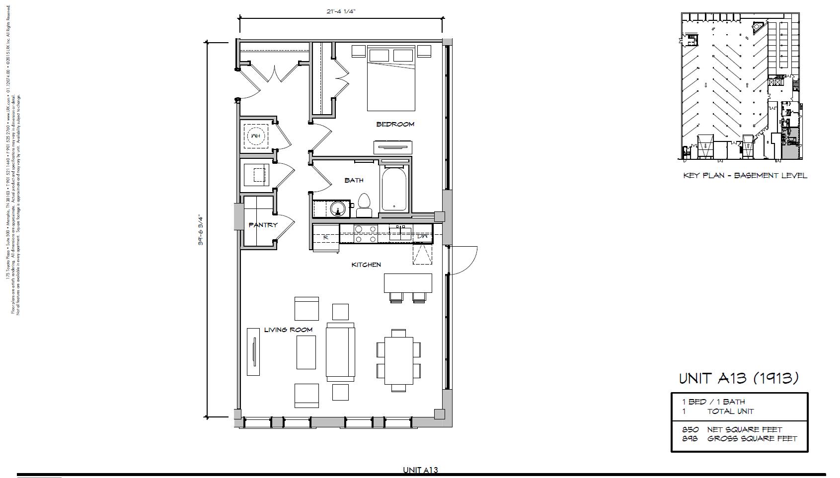 A13 - 1913 Floor Plan 3