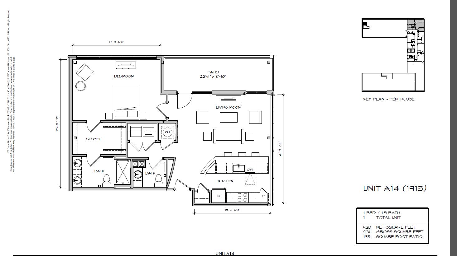 A14 - 1913 Floor Plan 4
