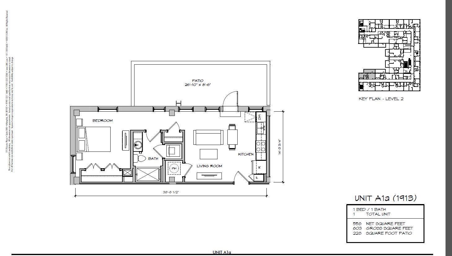 A1a - 1913 Floor Plan 5