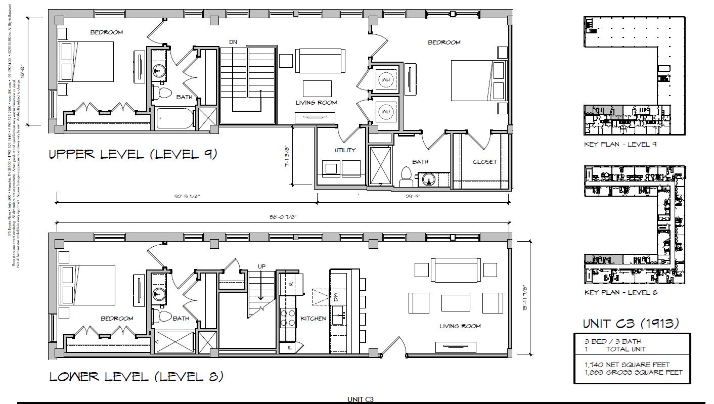 C3 - 1913 Floor Plan 39