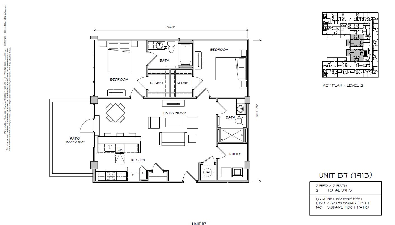 B7 - 1913 Floor Plan 36