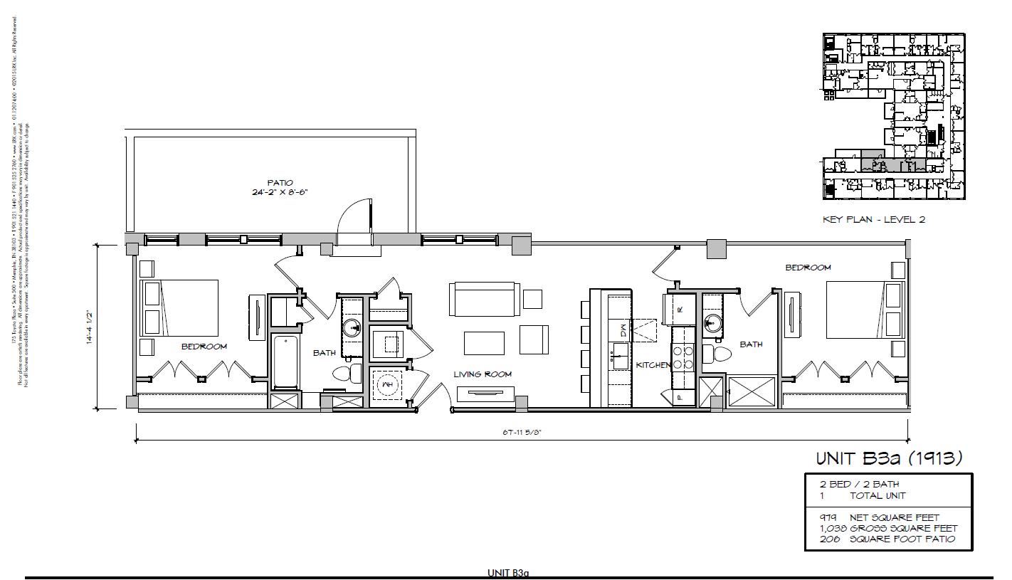 B3a - 1913 Floor Plan 33