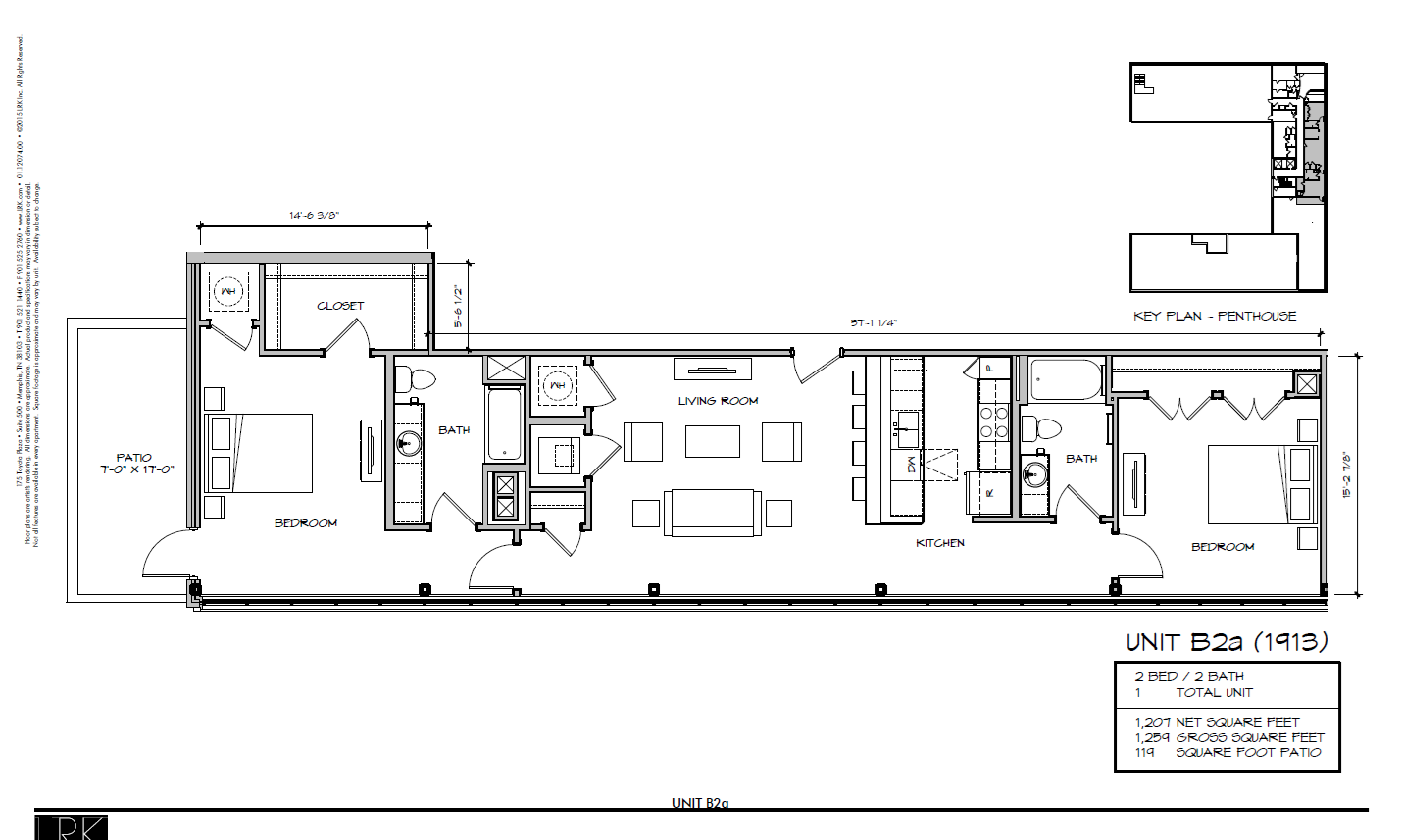 B2a - 1913 Floor Plan 31