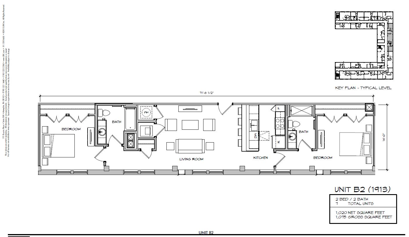B2 - 1913 Floor Plan 30