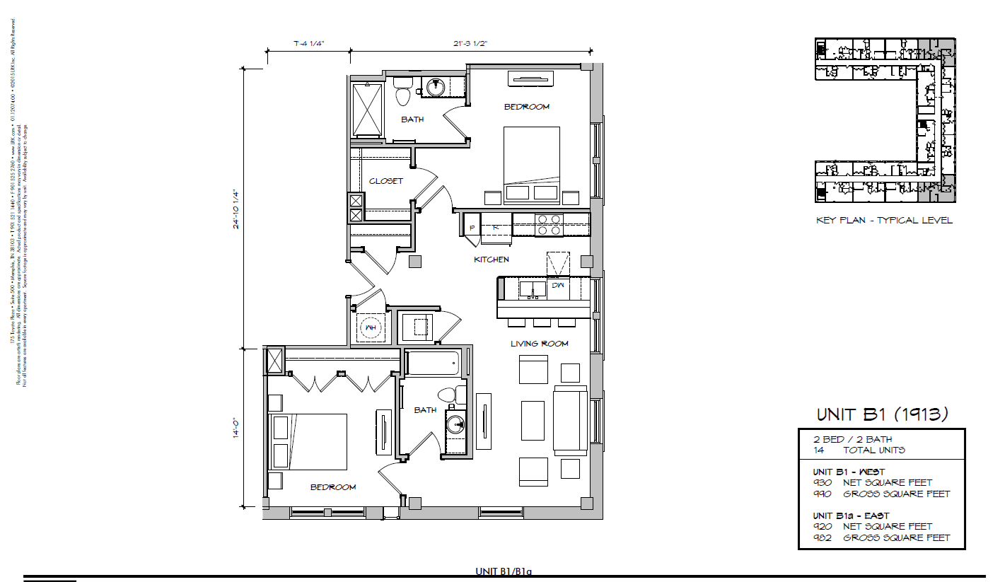B1a - 1913 Floor Plan 27