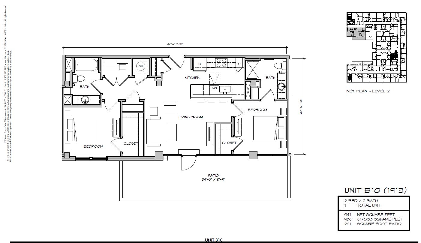 B10 - 1913 Floor Plan 26