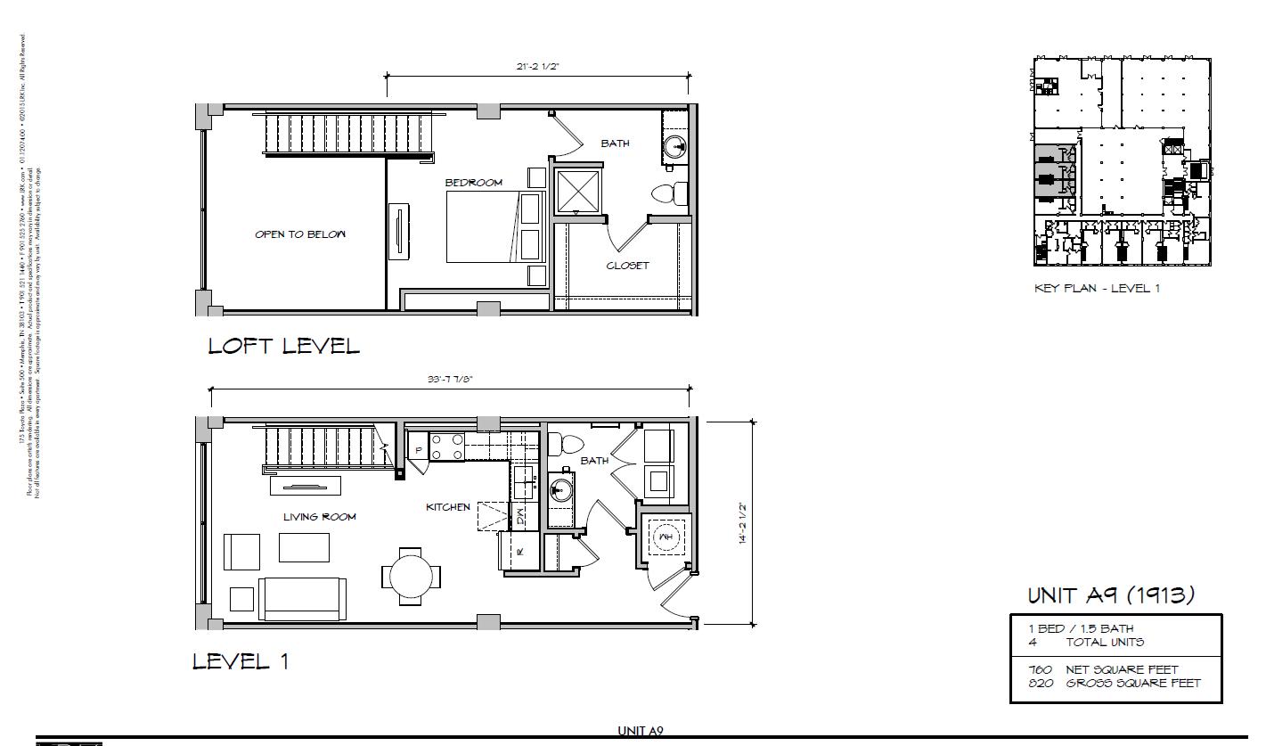 A9 - 1913 Floor Plan 22
