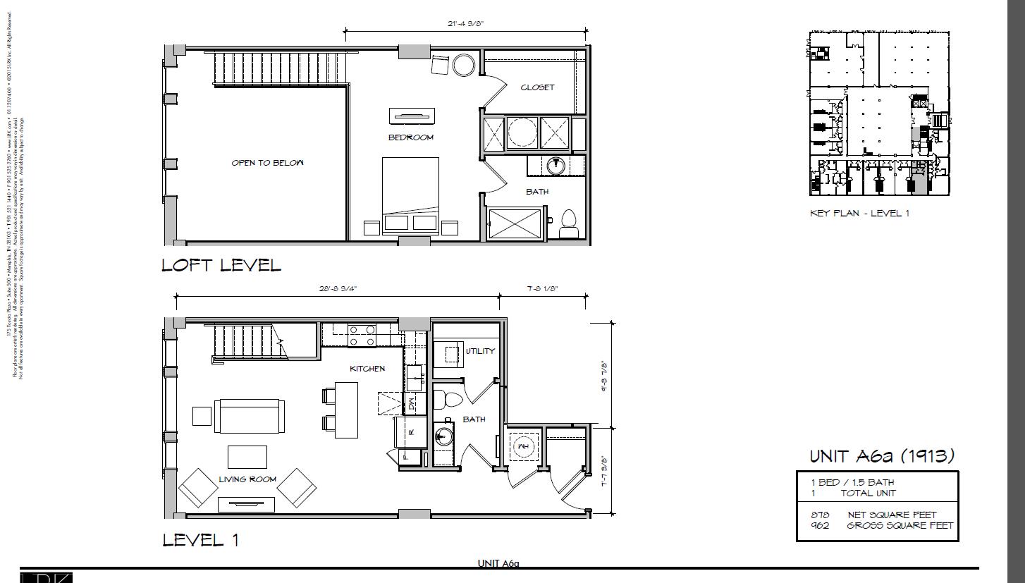 A6a - 1913 Floor Plan 20