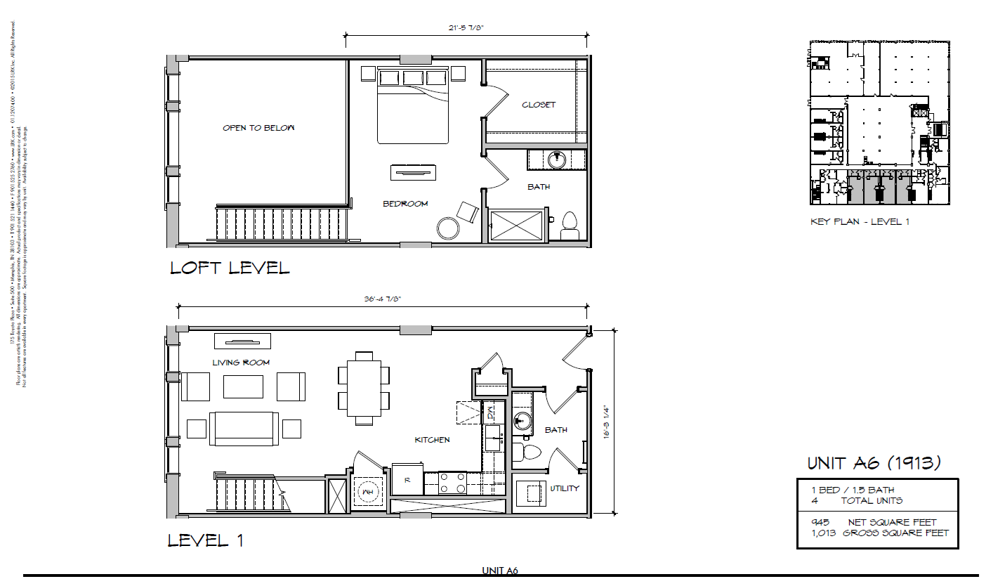 A6 - 1913 Floor Plan 19