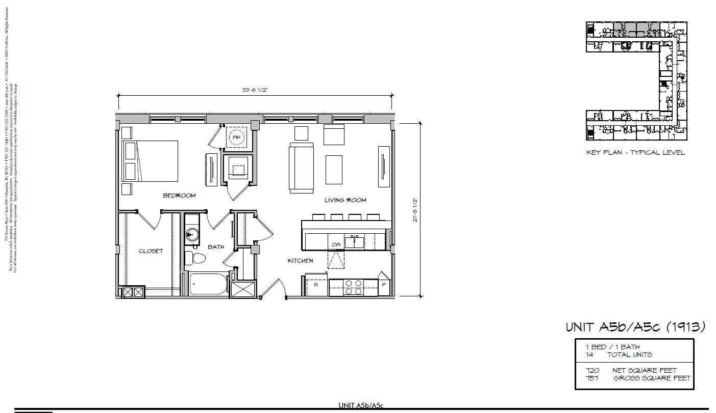 A5c - 1913 Floor Plan 18