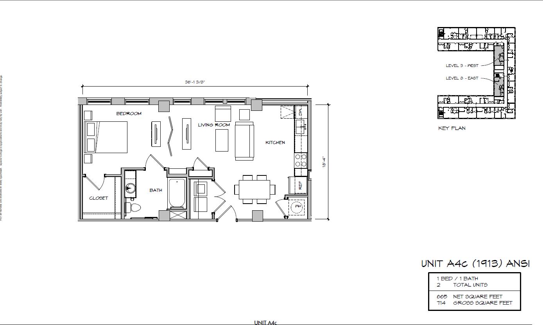 A4c - 1913 Floor Plan 14