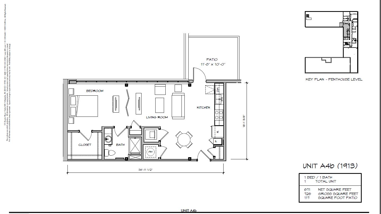 A4b - 1913 Floor Plan 13