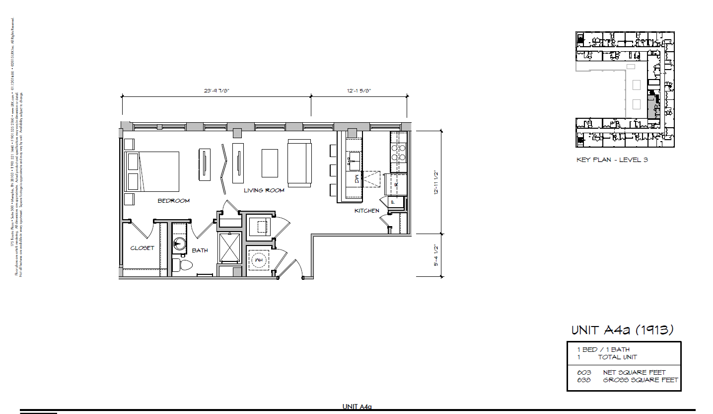A4a - 1913 Floor Plan 12