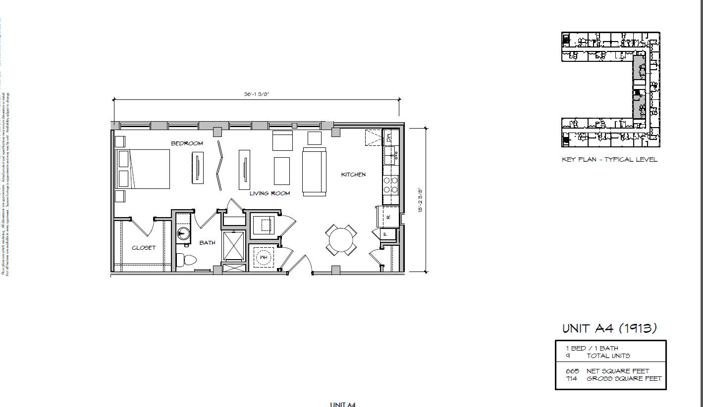 A4 - 1913 Floor Plan 11