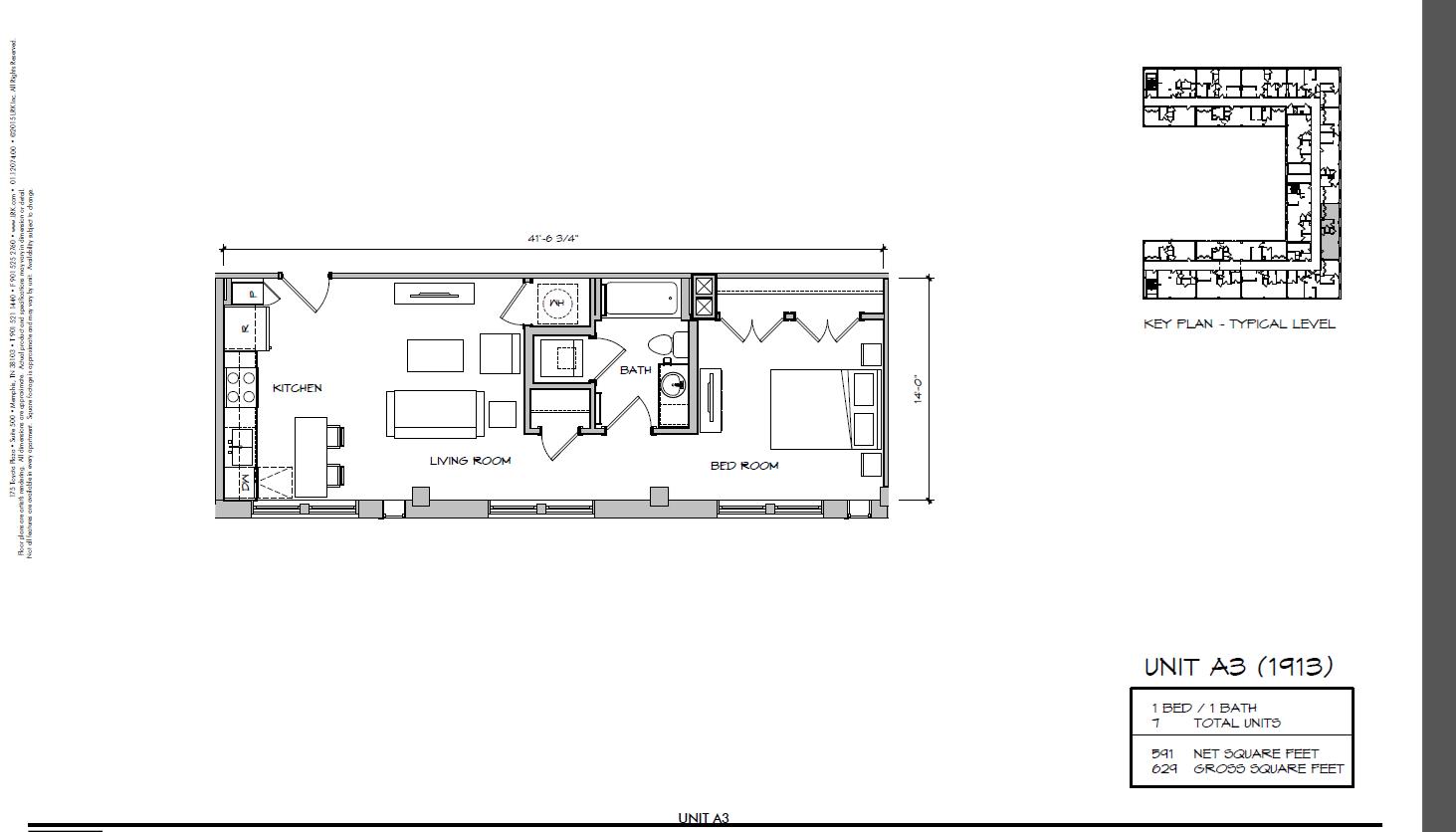 A3 - 1913 Floor Plan 10