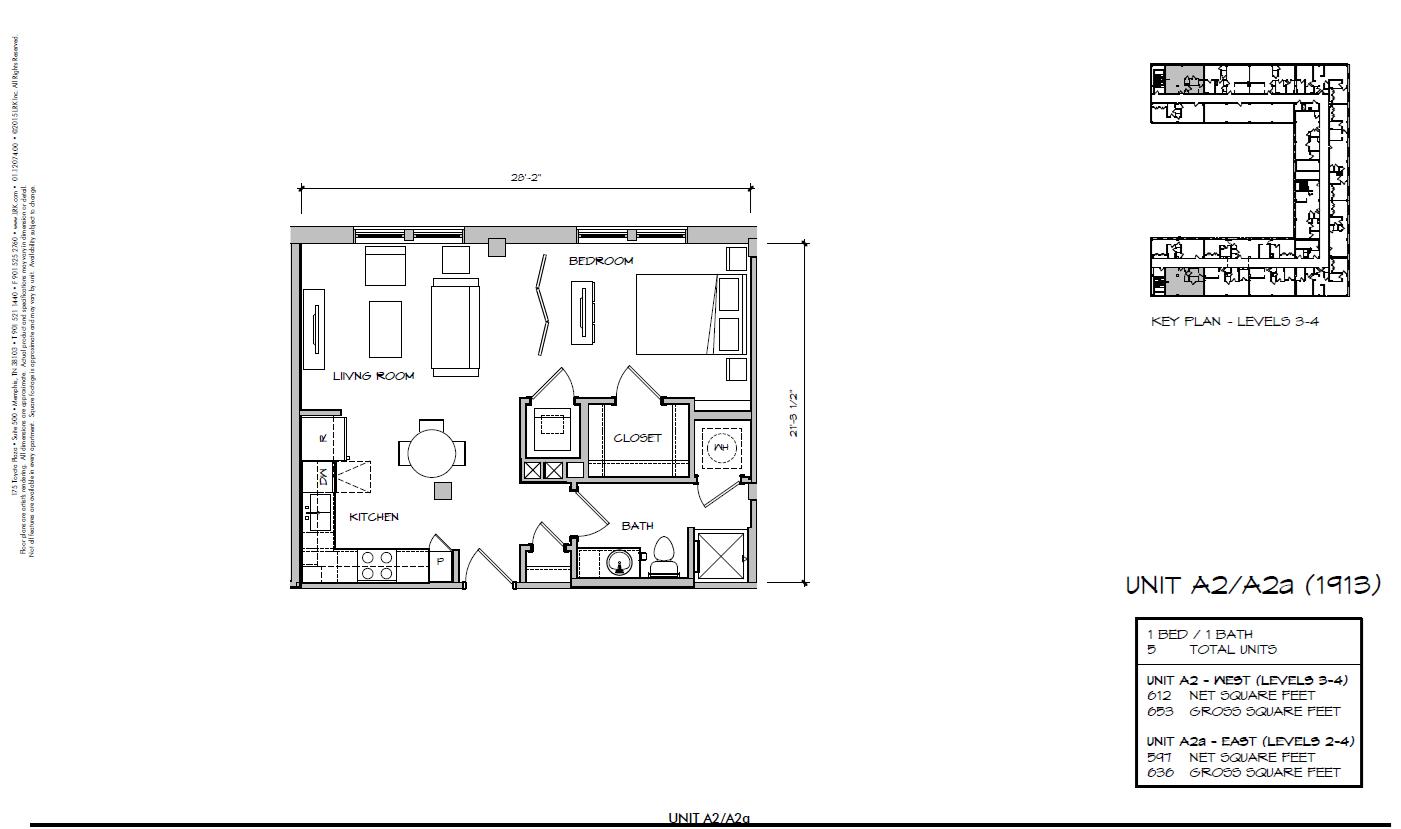 A2a - 1913 Floor Plan 9