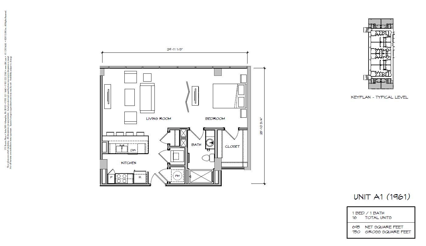 A1b - 1961 Floor Plan 7