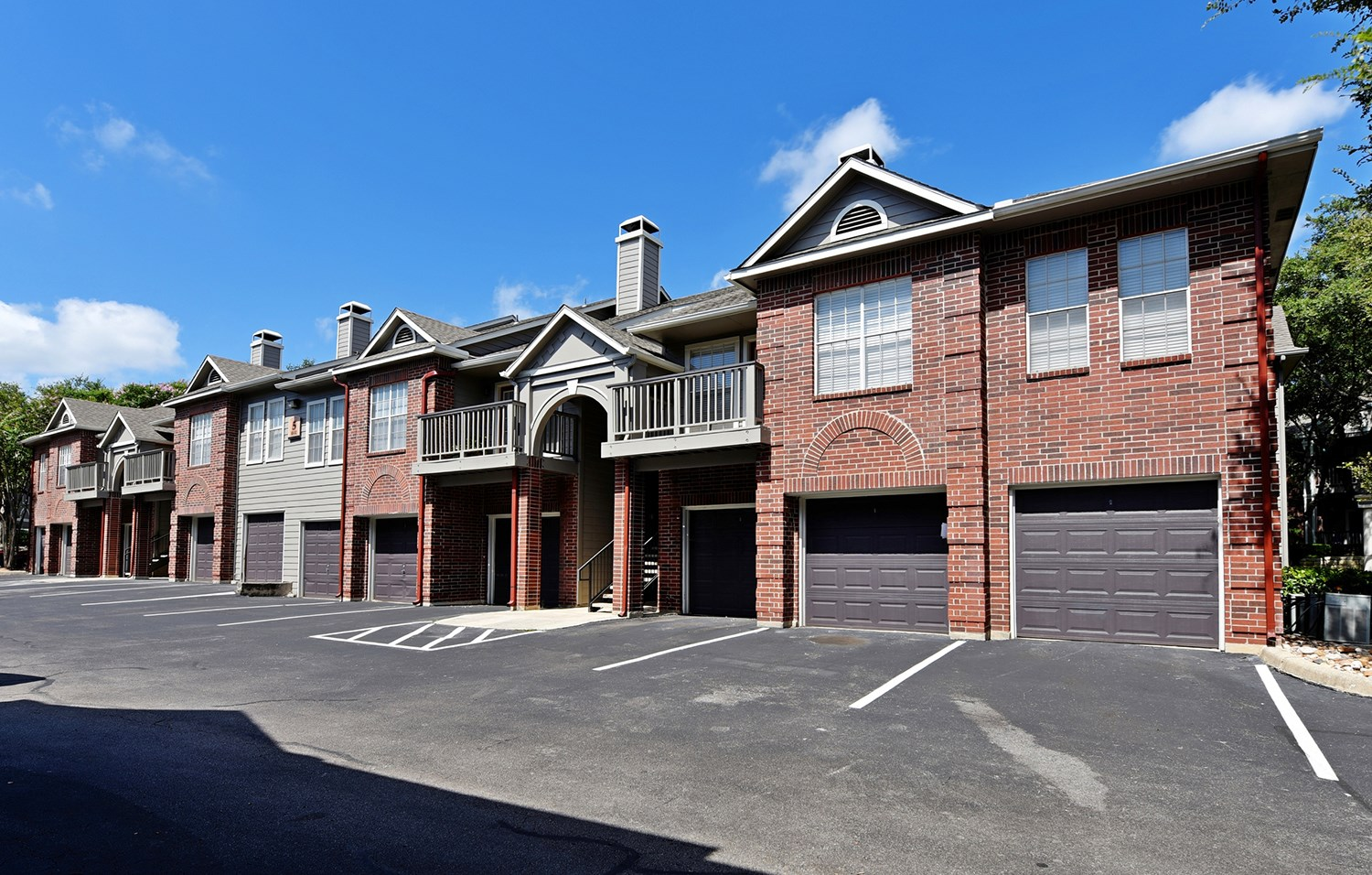Attached Garages at Park at Walkers Ranch Apartments in San Antonio, TX