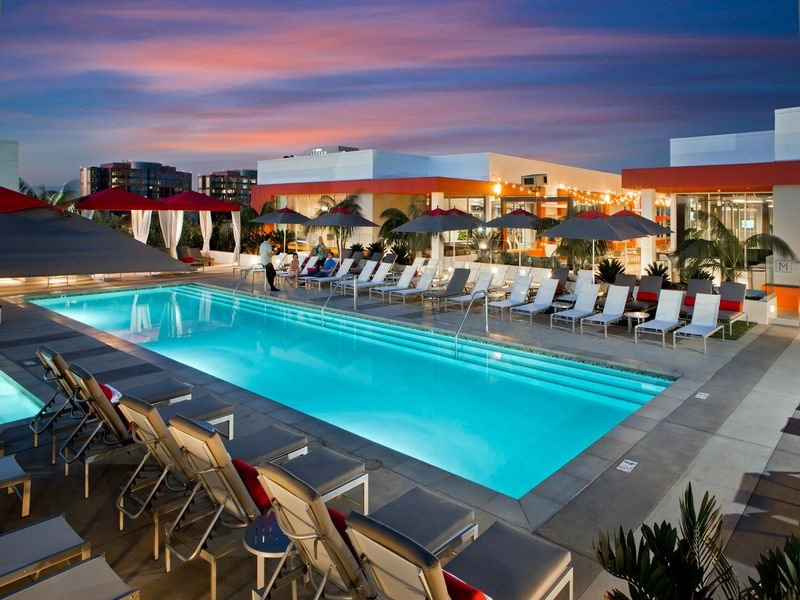 The-Marke-Amenities-Pool-Sunset-Santa-Ana