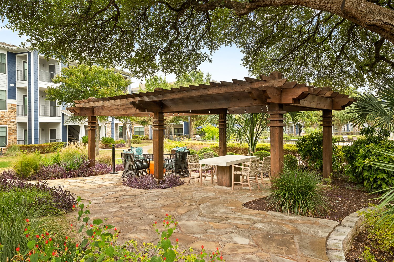 Covered Picnic and Grilling Area
