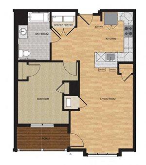 Type HP - One Bedroom