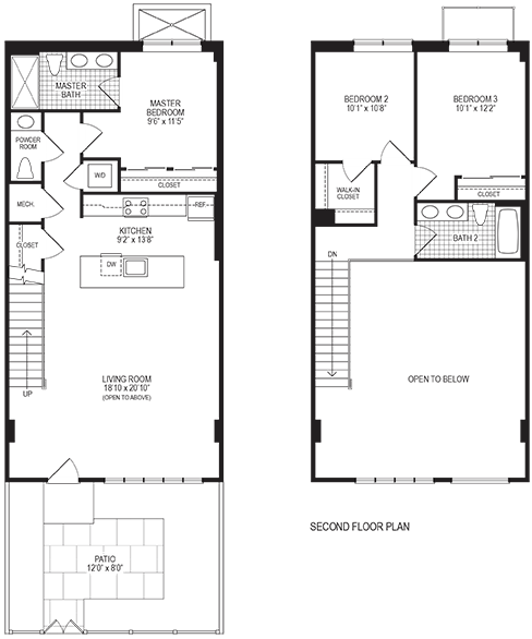 Mercury 3 Bedroom Floorplan
