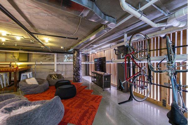 Resident Lounge and Bike Storage at Fahrenheit, Washington, Washington
