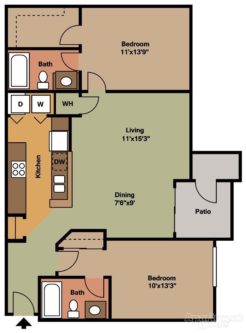 Cypress Floor Plan 9