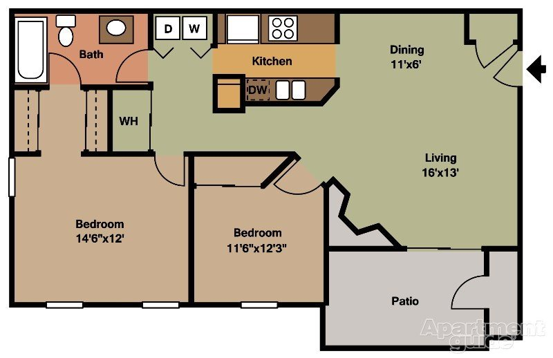 Larkspur Floor Plan 4
