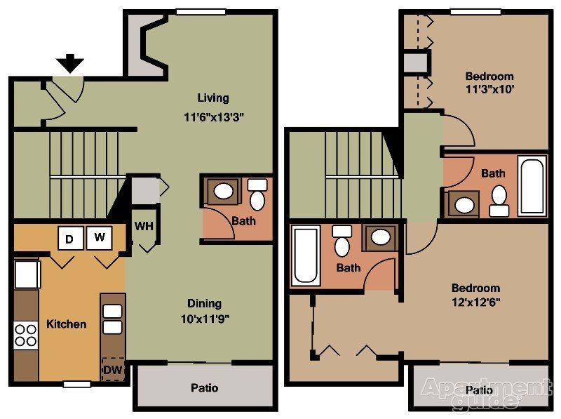 Townhome Floor Plan 7
