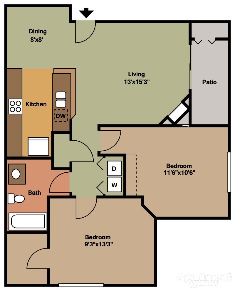 Willow Floor Plan 6