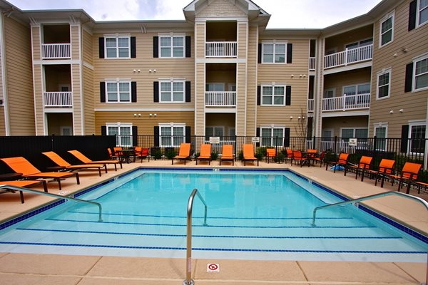 Pool side Sundeck at Aventura at Forest Park, Missouri, 63110