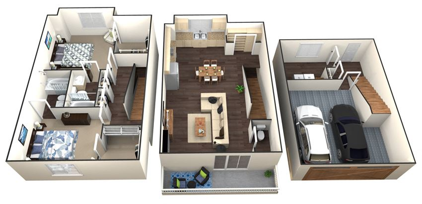 Floor Plans at Aventura at Forest Park, St. Louis