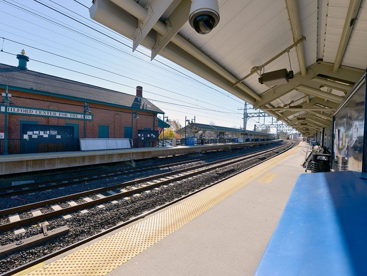 Minutes to the Metro-North Station