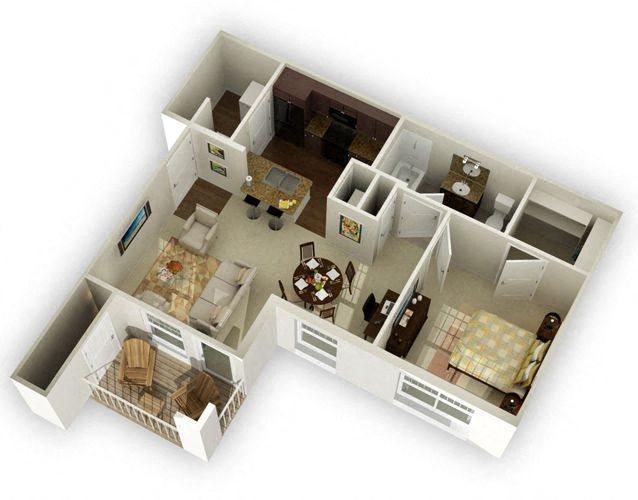 Saratoga Floor Plan 1