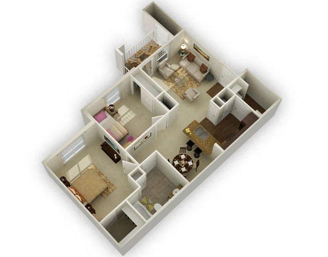 Colonial Floor Plan 2