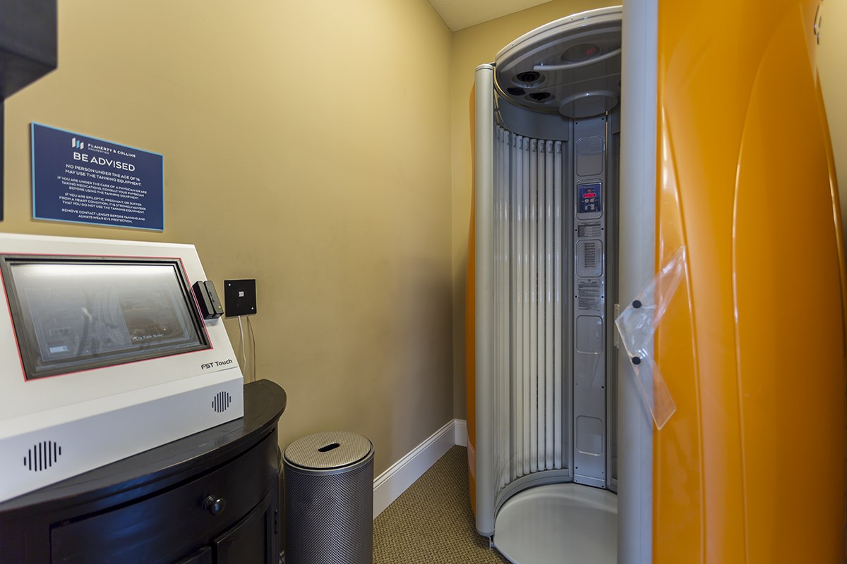 Tanning Booth at Steeplechase at Parkview Apartments in Fort Wayne, IN