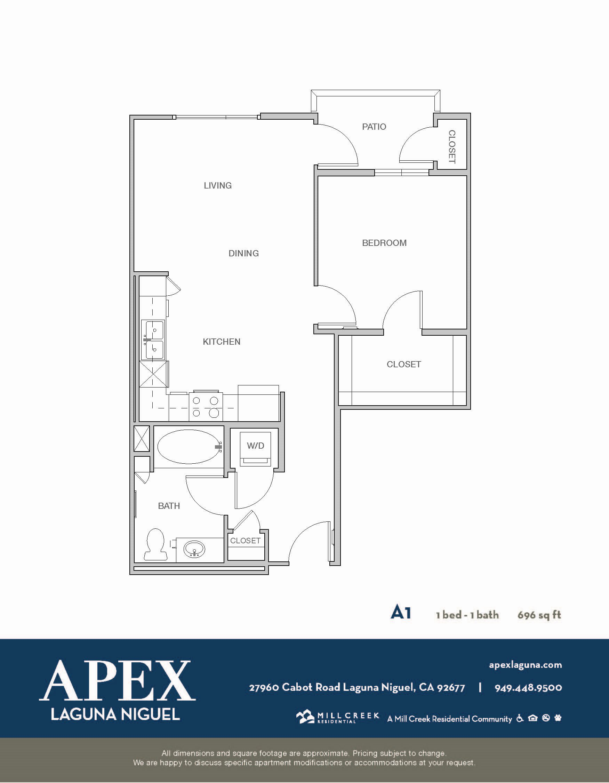 A1 Floor Plan 7
