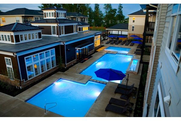 Multi-Tiered Pool
