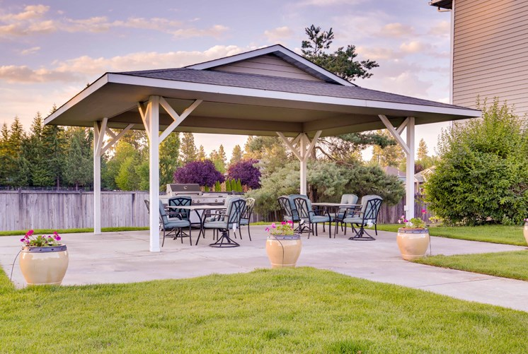 Outdoor Living with BBQ Area