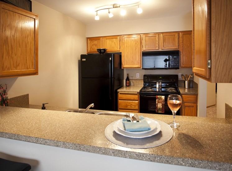 Spacious Kitchen Spaces