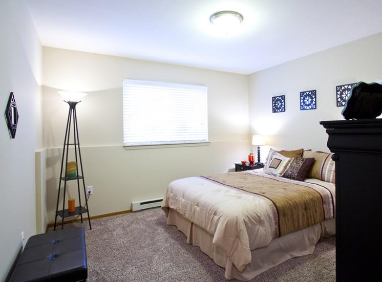Open Light-Filled Bedrooms