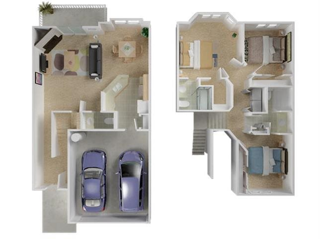 Manchester Townhome Floor Plan 7