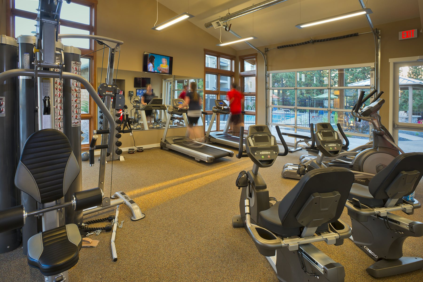 River House Apartments Fitness Center