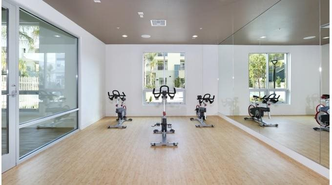 Fitness Center and Yoga Studio