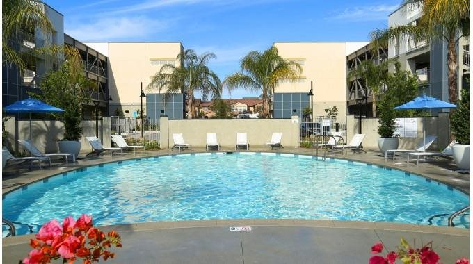 Mosaic Apartments_Oxnard CA_Sparkling Pool and Spa