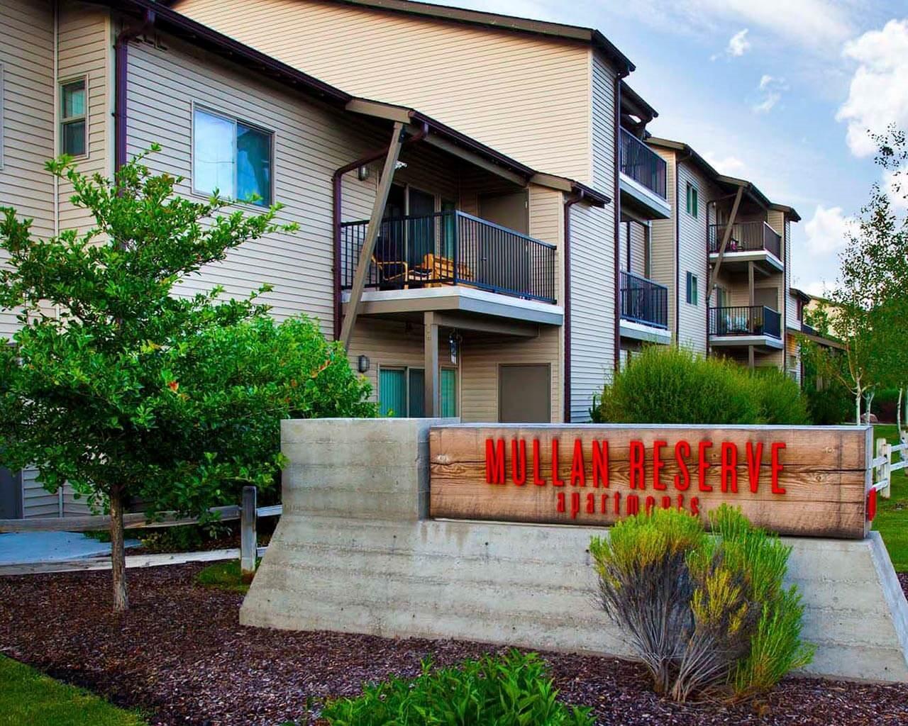 Property Signage at Mullan Reserve, Missoula, MT, 59808