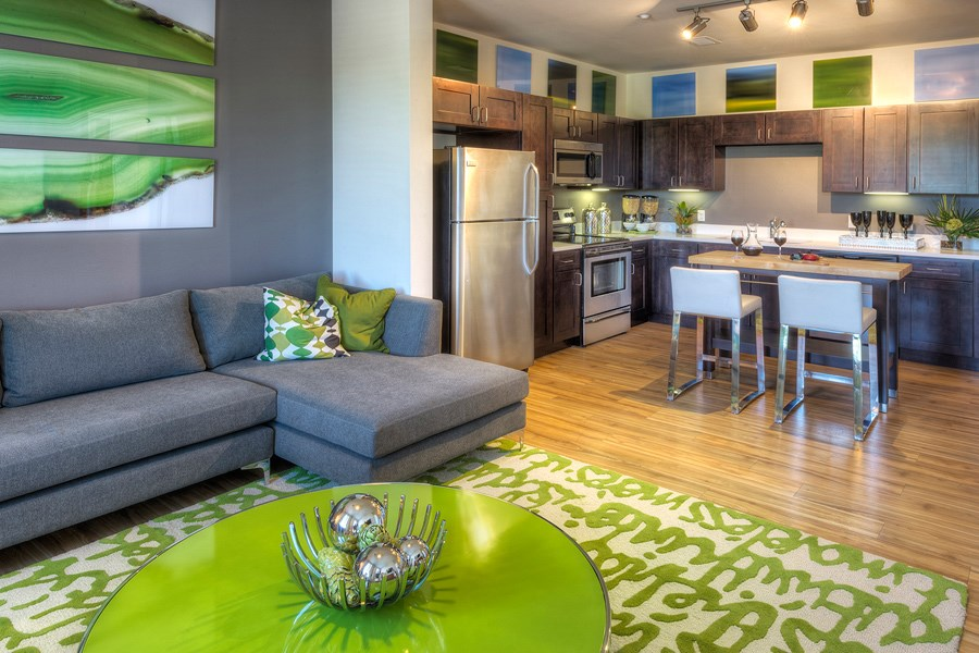 Englewood Apartments Capstone at Vallagio Modern Interiors